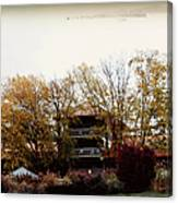 Waynesville Inn And Golf Resort Canvas Print