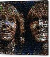 Weasley Twins Mosaic Canvas Print