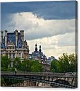 Weather In Paris Canvas Print