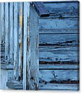 Weathered Blue Canvas Print