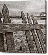 Weathered Canvas Print