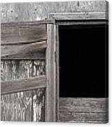 Weathered Granary 3 Canvas Print