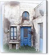 Weathered Greek Building Canvas Print