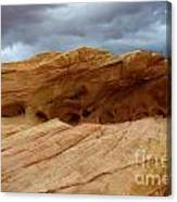 Weathered Sandstone Canvas Print