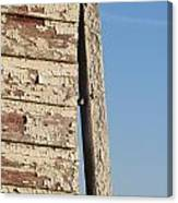 Weathered South Barn Wall Canvas Print