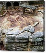 Weathered Stone Canvas Print