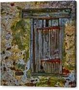 Weathered Vibrancy Canvas Print