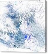 Web And Bush Abstract 2  Canvas Print