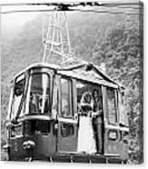 Wedding: Cable Car, 1970 Canvas Print