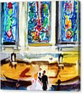 Wedding Day At Second Presbyterian Church Charleston Sc Canvas Print
