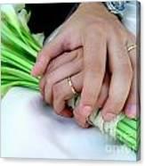 Wedding Rings Canvas Print