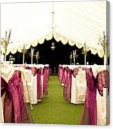 Wedding Venue Canvas Print