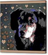 Wee With Love Canvas Print