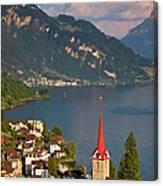 Weggis Switzerland Canvas Print