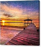 Welcome The Morning Canvas Print