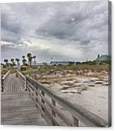 Welcome To Bald Head Island Canvas Print