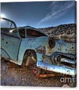 Welcome To Death Valley Canvas Print