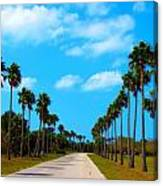 Welcome To Florida Canvas Print