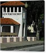 Welcome To New Port Richey Florida  Canvas Print