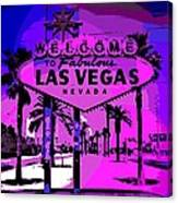 Welcome To Vegas No.2 Canvas Print