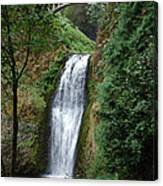 Well Placed Waterfall Canvas Print