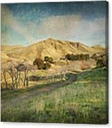 We'll Walk These Hills Together Canvas Print