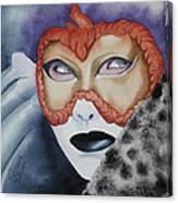 Well Worn Mask Canvas Print