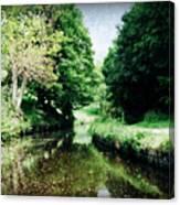 Welsh Canal Dream Canvas Print