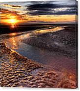 Welsh Sunset Canvas Print