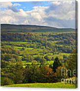 Wensleydale Near Westholme Bank In The Yorkshire Dales Canvas Print