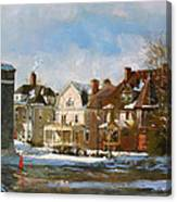 West Ferry Street Canvas Print