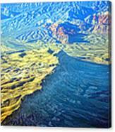West Of Las Vegas Planet Earth Canvas Print