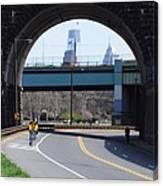 West River Drive Philadelphia Canvas Print