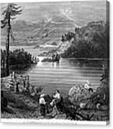 West: Settlement, C1838 Canvas Print