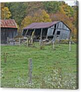 West Virginia Barn 3211 Canvas Print