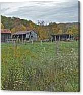 West Virginia Barn 3212 Canvas Print