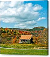 West Virginia Homestead Canvas Print