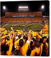 West Virginia Milan Puskar Stadium Canvas Print