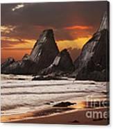 Westcombe Bay Canvas Print