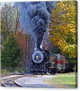Western Maryland Steam Train Canvas Print