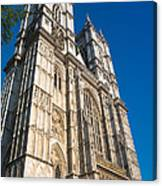 Westminster Abbey London Canvas Print