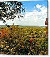 Weston Bend Fall Colors Canvas Print