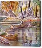 Wet Coast Canvas Print