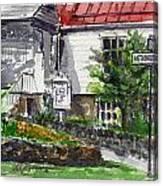 Wetheredsville Street Canvas Print