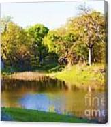Wetland Serenity Canvas Print