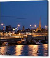 Wexford Harbour At Dusk Canvas Print