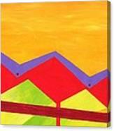 Wexler Folded Roof Three Canvas Print