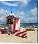 Weymouth Punch And Judy 3 Canvas Print