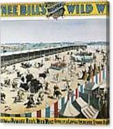 W.f.cody Poster, 1894 Canvas Print