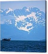 Whale Watchers Canvas Print
